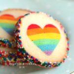 regenboog koekjes