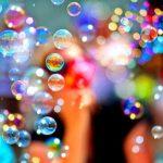 regenboogbellenblaas